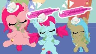 Карманные Пони ангелочки!!!  в мультике игре для детей. Прощаемся с поняшами