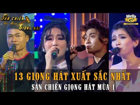13 Giọng hát xuất sắc nhất SÀN CHIẾN GIỌNG HÁT mùa 1 khiến ca sĩ chuyên nghiệp cũng phải khóc thét