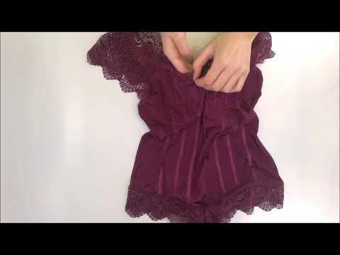 Svůdné body Moketta teddy purple - Obsessive