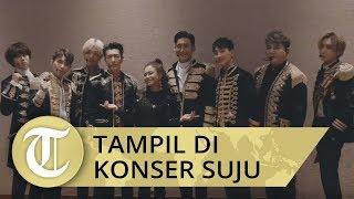 Rossa Tampil di Konser Super Junior, Kolaborasi dengan Yesung dan Ryeowook