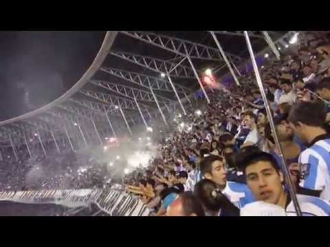 """GOL DE CENTURION - RACING CLUB CAMPEON"" Barra: La Guardia Imperial • Club: Racing Club • País: Argentina"