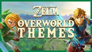 The Legend Of Zelda   All Overworld Themes (1986 2017)