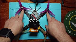 Building a 5 inch FPV Quadcopter with Tiny Whoop , Flight and conclusion (Part 2 of 2)