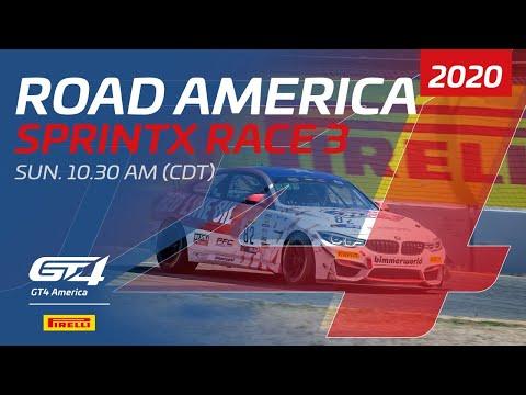【動画】ブランパンGTワールドチャレンジ・アメリカ(ロード・アメリカ)レース3フルレース動画
