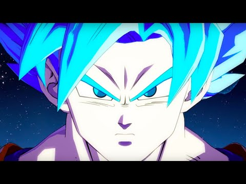 Dragon Ball FighterZ Official Goku [SSGSS] Trailer