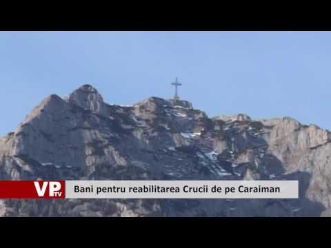 Bani pentru reabilitarea Crucii de pe Caraiman