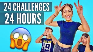 Watch 24 CHALLENGES IN 24 HOURS