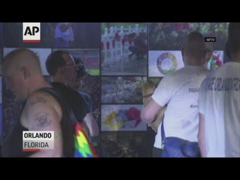Floridians and others around the world on Wednesday remembered the three-year anniversary of a massacre at a gay nightclub on Latin night that left 49 people dead and scores more wounded. (June 12)