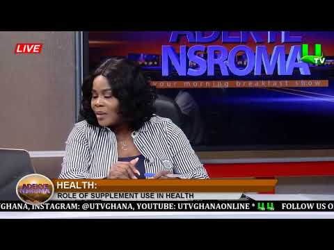 Adekye Nsroma: The Role of Dietary Supplements in Health