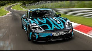 2020 Porsche Taycan sets four-door electric car record at the Nurburgring