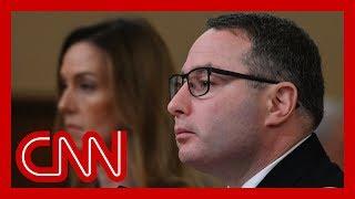 Vindman: Improper for Trump to demand Biden investigation