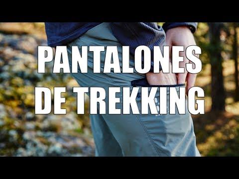 Características de los pantalones de trekking
