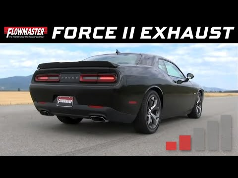 2015-16 Challenger R/T 5.7L - Force II Cat-back Exhaust System 817715