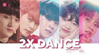 PRODUCE X 101 2X Speed Dance | 5 Concept Songs (MOVE, U GOT IT, etc.)