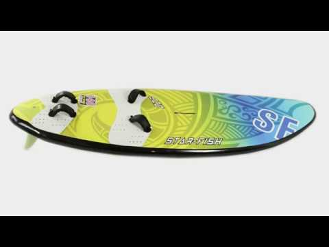 Eco Freeride windsurf board star-fish line 2017