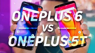 OnePlus 6 vs OnePlus 5T Quick Look