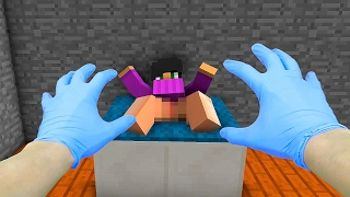 REALISTIC MINECRAFT - VILLAGER GIVES BIRTH