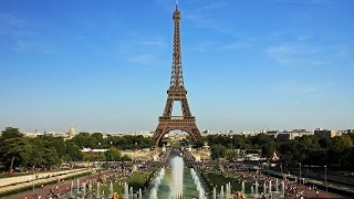 A Trip to the Eiffel Tower with Google Maps (No Sound)
