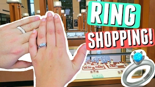 Wedding Ring Shopping!!