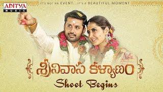 Srinivasa Kalyanam Shoot Begins   Srinivasa Kalyanam Movie   Nithiin, Raashi Khanna   Mickey J Meyer