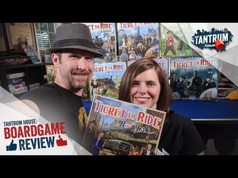Ticket to Ride: New York Board Game Review