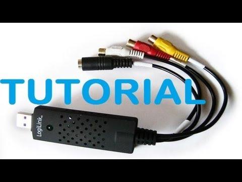 LogiLink video Grabber USB 2.0 test installieren und aufnehmen