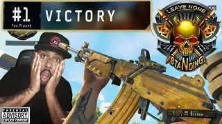 I put 6 ATTACHMENTS on the GRAV and THIS Happened!! BO4 Blackout easy Solo Win