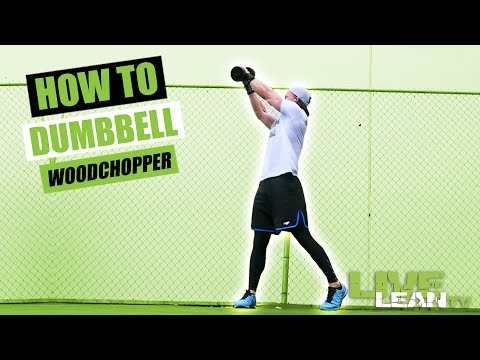 How To Do A DUMBBELL WOODCHOPPER | Exercise Demonstration Video and Guide