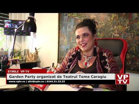 Garden Party organizat de Teatrul Toma Caragiu