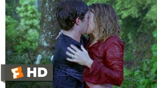 In the Land of Women (2007) - Kiss in the Rain Scene (7/9) | Movieclips