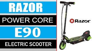Razor Power Core E90 Electric Scooter Specs & Review (2020)