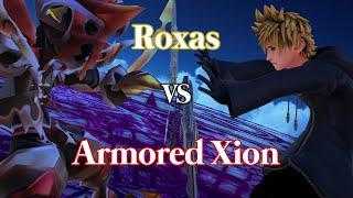 Roxas vs Armored Xion