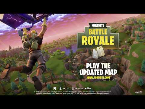 Fortnite Battle Royale – Map Update!