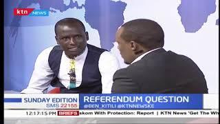 Raila Odinga agrees with DP Ruto over referendum