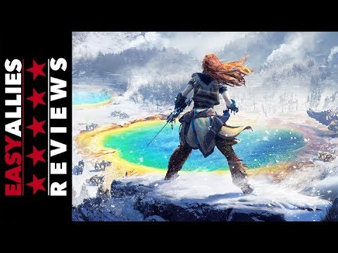 Horizon Zero Dawn: The Frozen Wilds - Easy Allies Review - YouTube video thumbnail