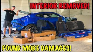 Rebuilding A Wrecked 2018 Camaro ZL1 Part 7