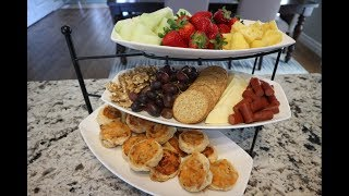 Tiered Tray Food Entertaining | How To Display Food On Tiered Tray