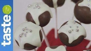 How To Make Christmas Cake Pops | Taste.com.au