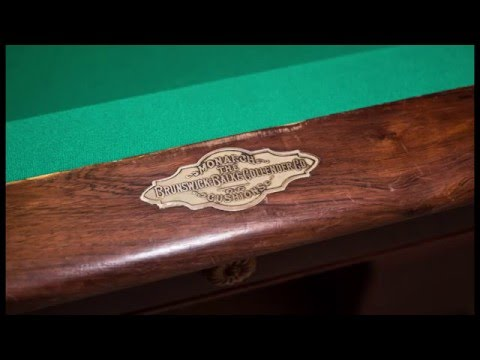 1905 Brunswick Balke Collander Pool Table Mp3