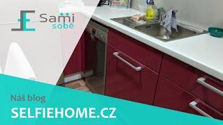 Sami Sobě - Instalace myčky na nádobí do již hotové kuchyně