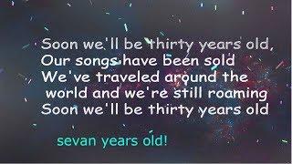 Seven Years Old By Lukas Graham(lyrics)