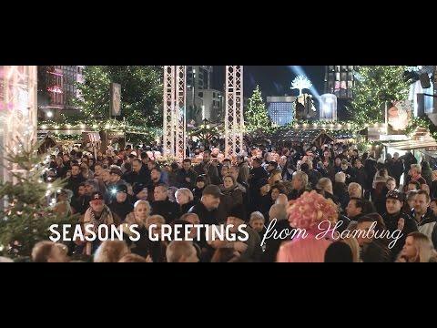 Christmas Carol - Season´s greetings from Hamburg