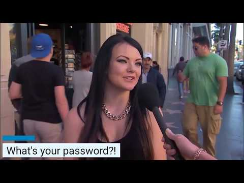 What's your password?