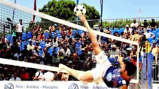 Top au Mondial Foot Volley (Antibes)