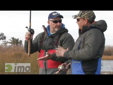 Bass Fishing the IMA Shaker on the California Delta