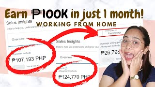 How to Earn 100K PESOS in ONE MONTH | Work from Home | Freelancer | Entrepreneur Tips | Joannares