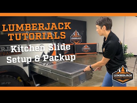 How to setup & packup the kitchen slide