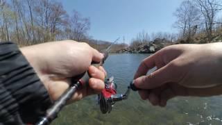 Рыбалка на реке пойма приморский край