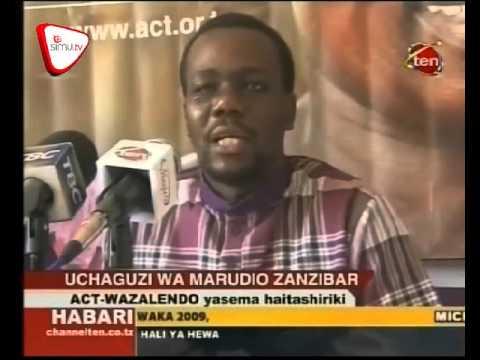 Wajumbe 2 wa ZEC Wapinga Kurudia Uchaguzi - смотреть онлайн