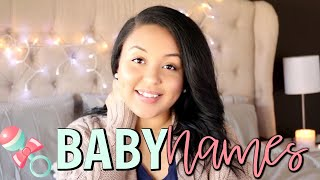 10 BABY NAMES WE LOVE BUT WON'T BE USING! | FIRST & MIDDLE NAME COMBINATIONS! |  Page Danielle